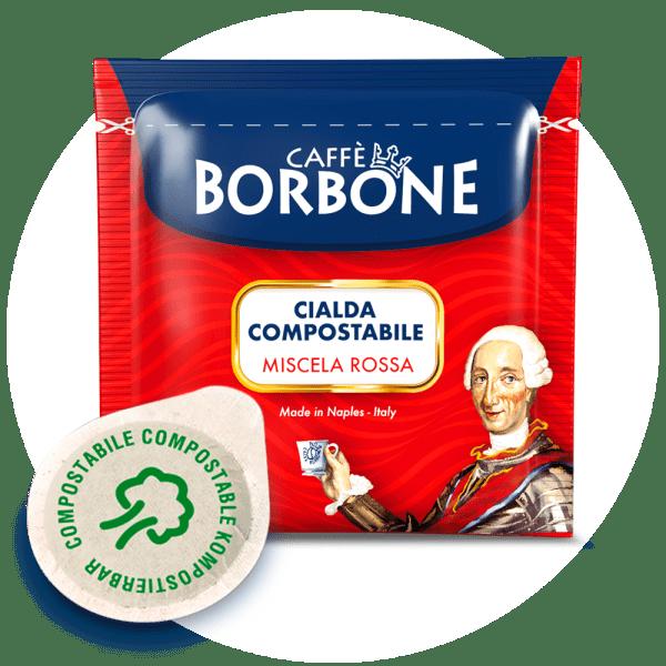 Caffe Borbone 150 Portionen Miscela ROSSA
