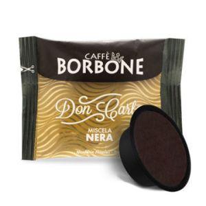 Caffe Borbone Don Carlo 100 Stk. Miscela Nera Lavazza A Modo Mio Kompatiebel
