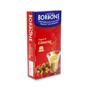 Caffe Borbone REspresso 60 Portionen Ginseng Geschmack Kompatible Nespresso Kapseln