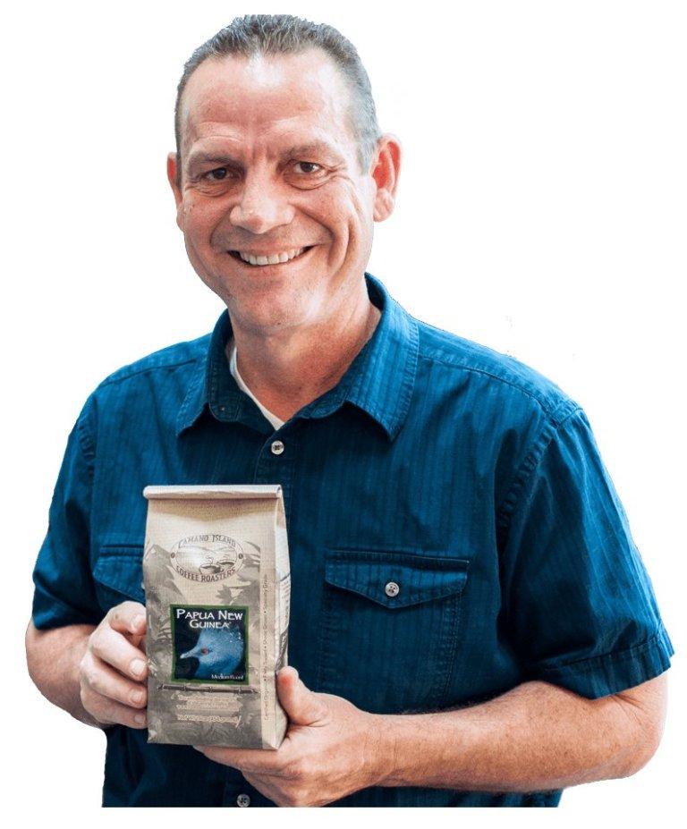 CAMANO ISLAND COFFEE 創辦人Jeff Ericson