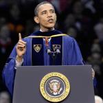 Obama: Graduates Beware of the New Media