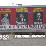 Iowa Billboard Compares Obama to Hitler & Lenin (Update: Papered Over)