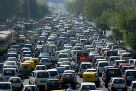 Picture of Huge Traffic Jam