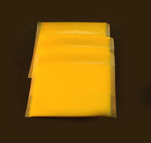 Picture of Sliced American Cheese of Some Sort
