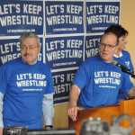 Terry Branstad, Dan Gable Launch Let's Keep Wrestling