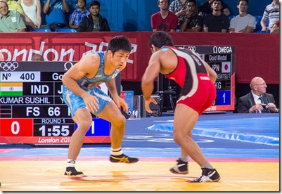Olympic Freestyle Wrestling 2012 London Olympics