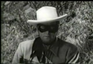 Clayton Moore as the Lone Ranger (1949)