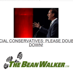 What Message is TheBeanWalker.com Sending to Social Conservatives?