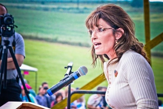 Sarah Palin in Indianola, IA