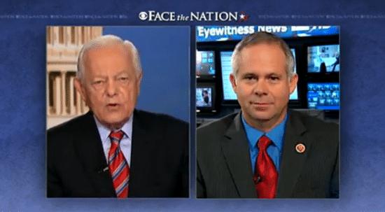 Bob Schieffer and Congressman Tim Huelskamp (R-Kansas) on Face the Nation