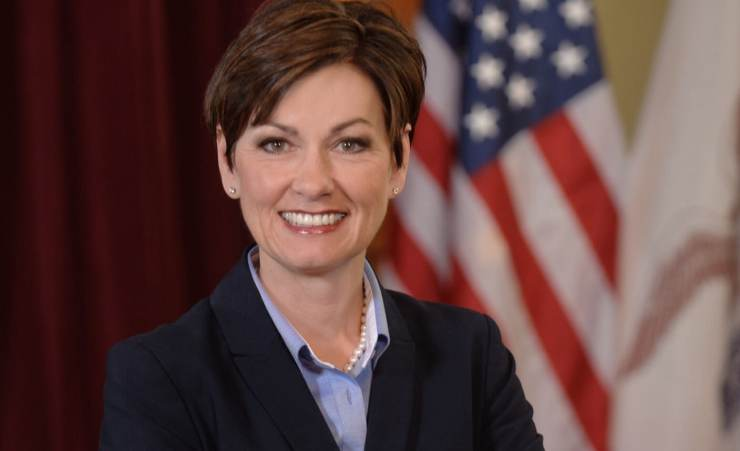 Iowa Lt. Gov. Kim Reynolds Photo credit: Iowa Governor's Office (Public Domain)