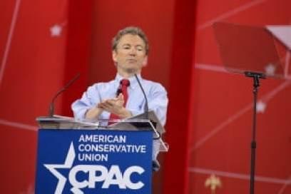U.S. Senator Rand Paul (R-KY) at CPAC 2015 Photo credit: Dave Davidson - Prezography.com