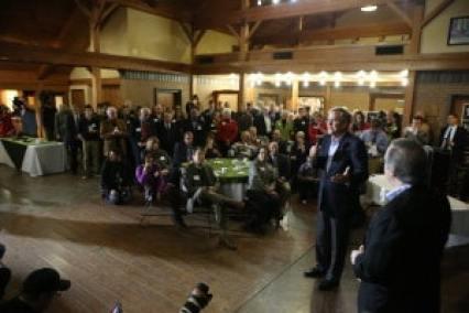 Jeb Bush at fundraiser for Congressman David Young (R-Iowa) Photo credit: Dave Davidson - Prezography.com