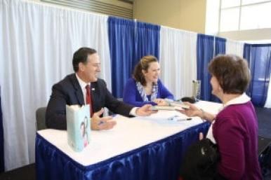 Rick and Karen Santorum at 2015 CPAC Book Signing Photo Credit: Dave Davidson - Prezography.com