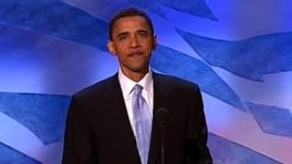 Barack Obama at 2004 DNC