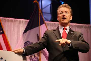 Rand Paul at the Iowa Faith & Freedom event on 4/25/15.Photo credit: Dave Davidson - Prezography.com