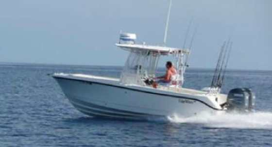 he EdgeWater 245CC Deep-V Center Console, the same make and model as Rubio's boat.