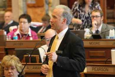 State Representative Chuck Soderberg (R-LeMars)Photo credit: Iowa House Republicans