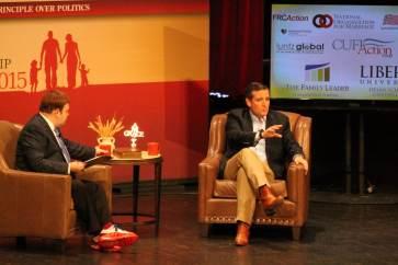 Ted Cruz at the 2015 FAMiLY Leadership SummitPhoto credit: Dave Davidson (Prezography.com)