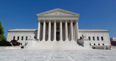 The Supreme Court Building in Washington, DC. Photo taken by Tim Sackton (CC-By-SA 2.0).