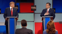 Donald Trump and U.S. Senator Ted Cruz (R-TX) debate his citizenship status.