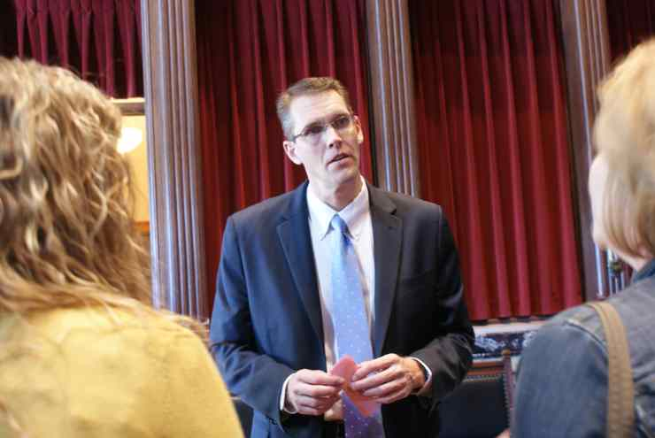 State Senator Randy Feenstra (R-Hull)Photo credit: Iowa Senate Republicans