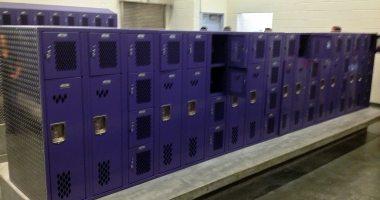 Locker room in Garfield High School in Seattle, WA. Photo credit: Joe Wolf (CC-By-ND 2.0)