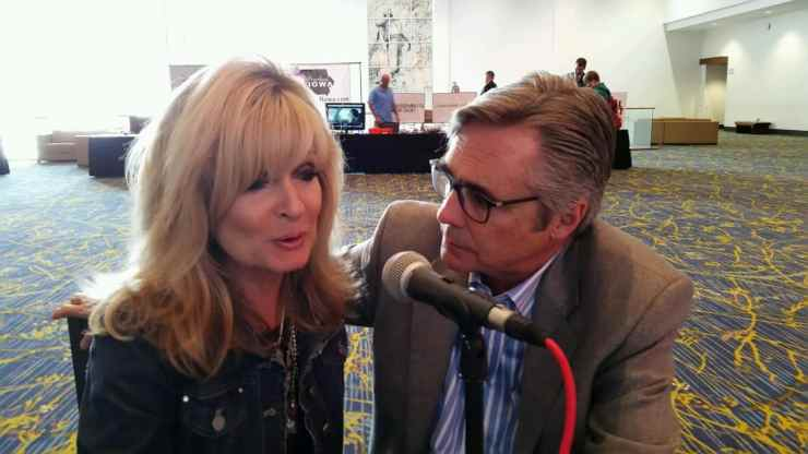 Dr. Gary and Barbara Rosberg on Caffeinated Thoughts Radio at the 2016 Family Leadership Summit. Photo credit: Brian Myers