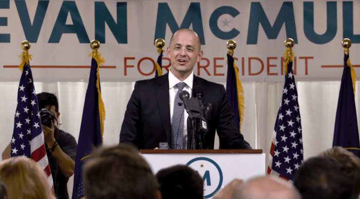 Evan McMullin campaign kick-off Salt Lake City