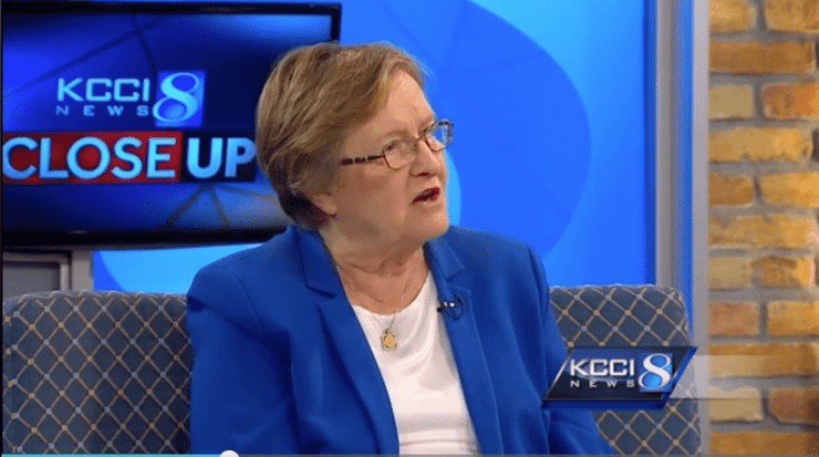 Patty Judge on KCCI TV 8 Closer Look