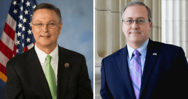 Congressmen Rod Blum (R-Iowa) and David Young (R-Iowa)