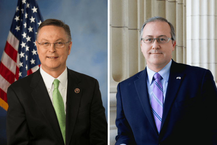 Congressmen Rod Blum (R-Iowa) and David Young (R-Iowa)