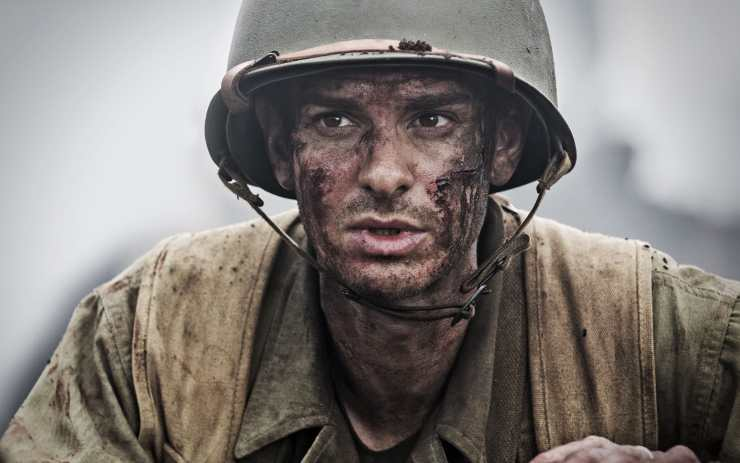 Pvt. Desmond Doss was played by Andrew Garfield.