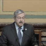 Iowa Gov. Terry Branstad Gives Last Condition of State Address