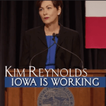 Kim Reynolds Launches New TV Ad, 'Iowa is Working'