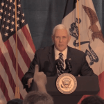 (Video) Mike Pence Stumps for David Young