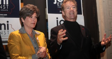 Sens. Joni Ernst and Rand Paul