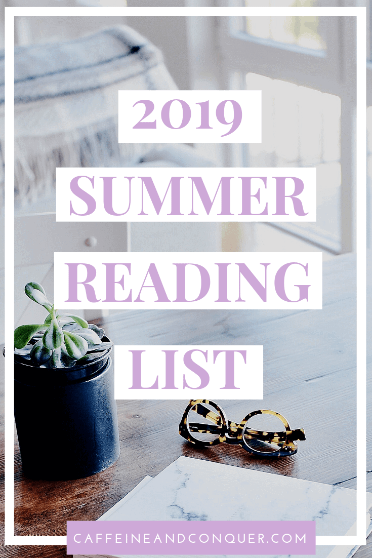 A pinnable image: 2019 Summer Reading List