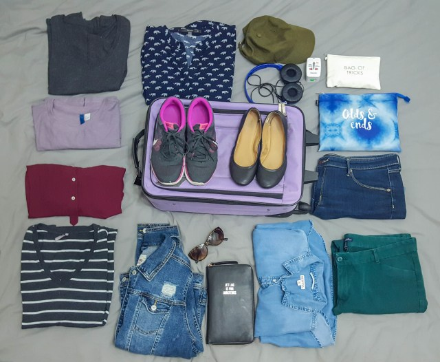 how to pack a carry on suitcase for 10 days