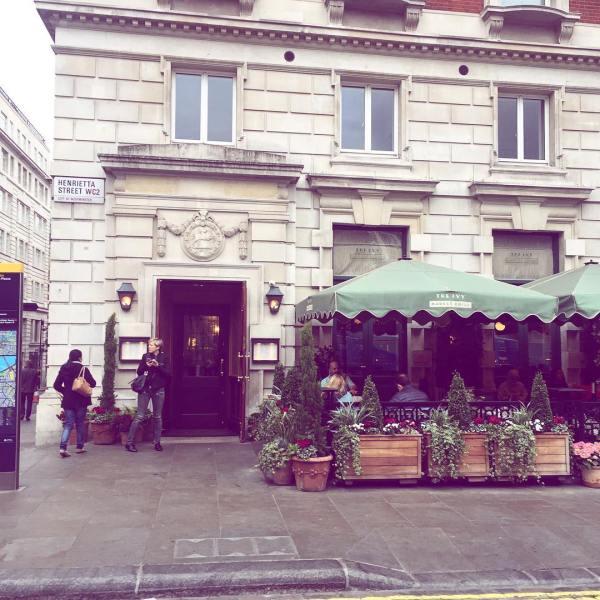 Covent Garden, London, Restaurants