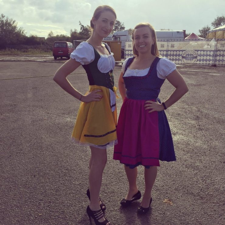 Girls in Dirndls