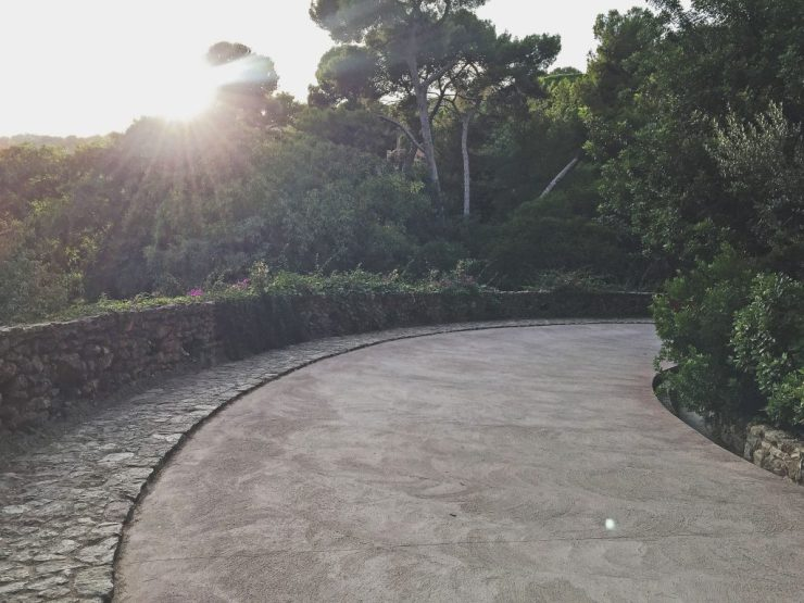 Barcelona - Gardens Parque Guell