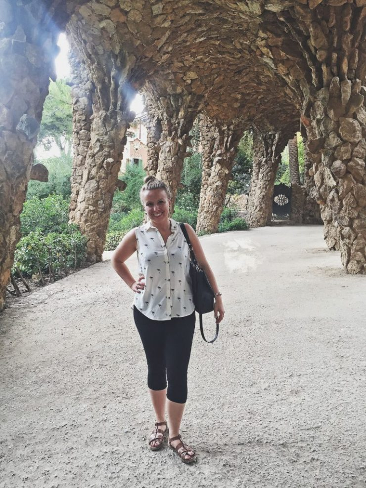 Barcelona - Parque Guell - under water