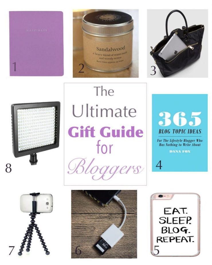ultimate gift guide for bloggers - caffeineberry.com