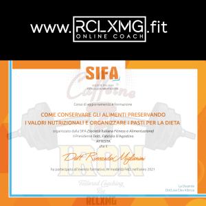 Conservare gli alimenti Sifa