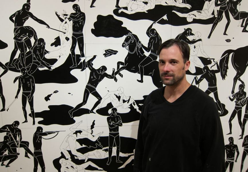 The Violent Artwork of Cleon Peterson