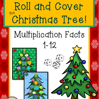 Combining Christmas and Multiplication Facts