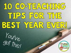 10 Tips for Co-Teaching in the Classroom
