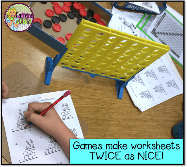 2-Digit Multiplication using Shapes & Colors! Available at my Teachers Pay Teachers Store! Click Here!