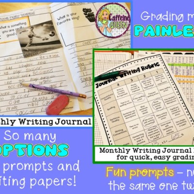 Monthly Journal Writing made easy!